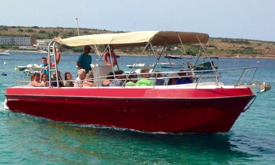 33' Hawaiian Baby Powerboat In Malta