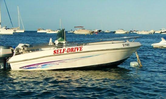 13' Self Drive Speed Boat In Il-mellieħa