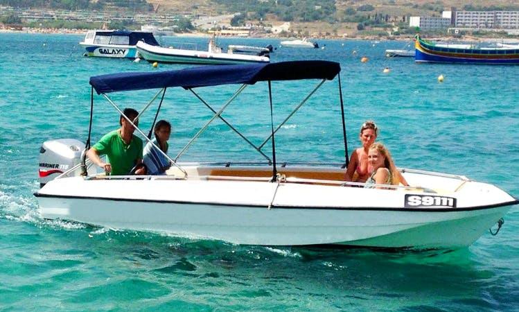 18' Self Drive Speed Boats In Il-Mellieħa