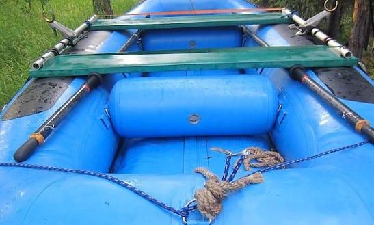 6 Seater Raft Boat Rental  In Cooper Landing, Alaska