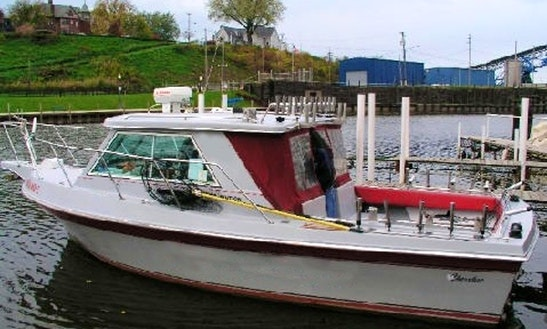 'cherokee' Fishing Charter In Ashtabula Township, Ohio