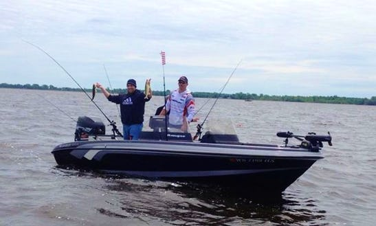 Guided Fishing Trip With Captain Ryan On 20' Ranger Fishing Boat In Brillion