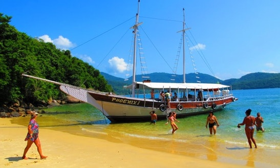 Schooner Sleep Aboard Rental In Angra Dos Reis