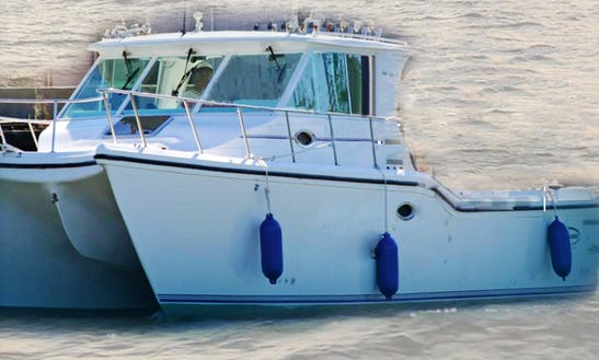 34' Sport Fisherman Fishing Trips In Danbury Township, Ohio