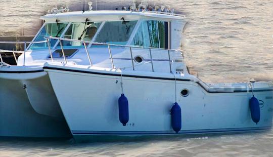 34' Sport Fisherman Fishing Trips In Danbury Township, Ohio