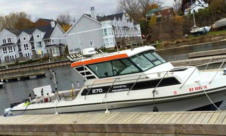 27' Sportcraft Coastal Fisherman Boat In Demorestville