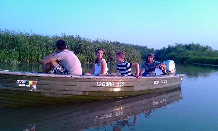 Take a Scenic Charter trip on a Dinghy in Tulcea, Romania