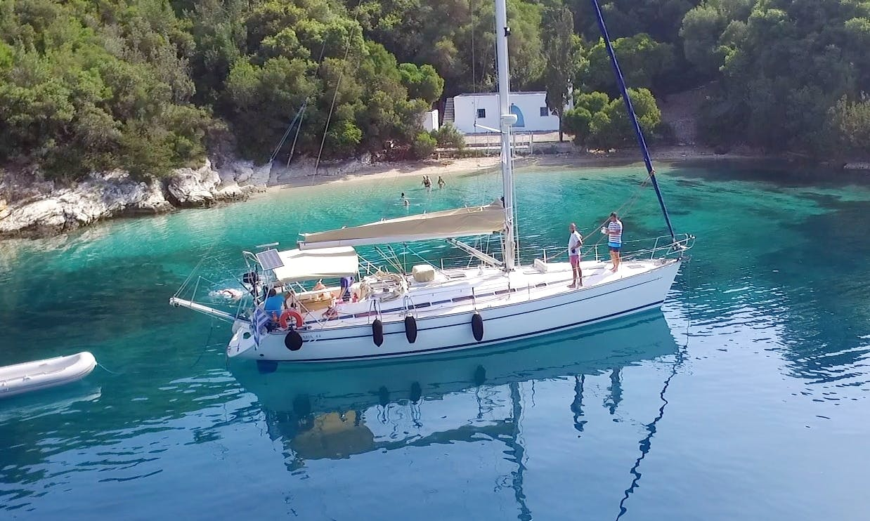 Charter 44' Shiraz Cruising Monohull in Nidri, Lefkada Sailing