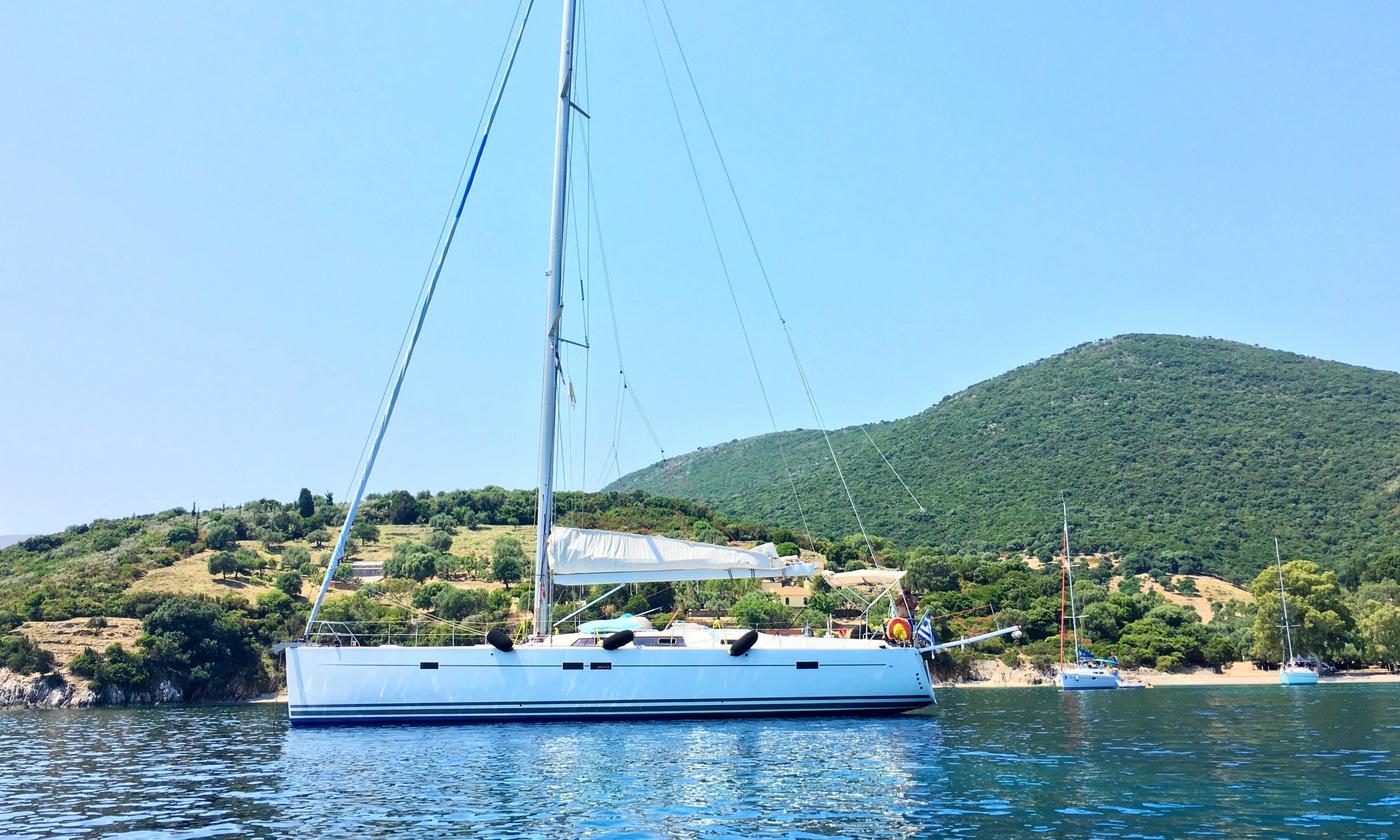 "Sailing Charter Hanse 54' ""Roma"" Cruising Monohull in Nidri, Lefkada Sailing"