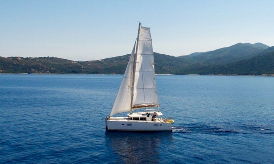 Charter The 40' Lagoon Sailing Catamaran In Ajaccio, France