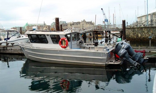Experience Fishing Aboard A 25' Aluminum Fishing Vessel For 4 People In Victoria, Canada