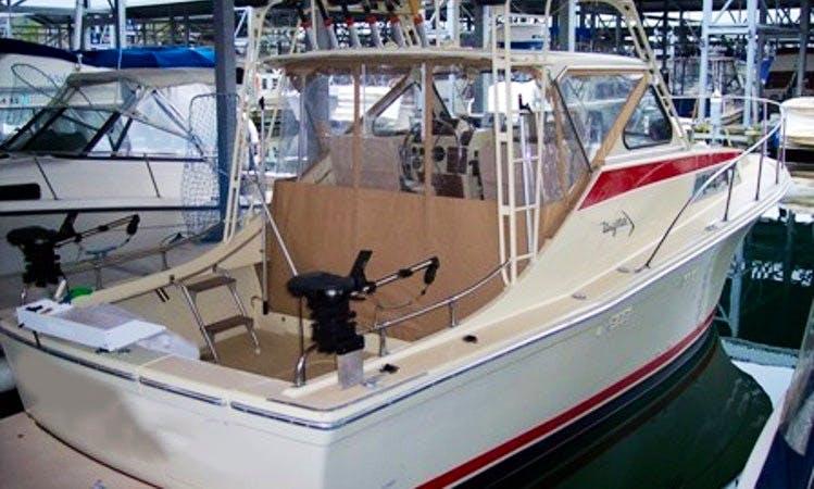"""28ft """"Uniflite Salty Dog"""" Sportfisherman Boat Charter In Everett, Washington"""