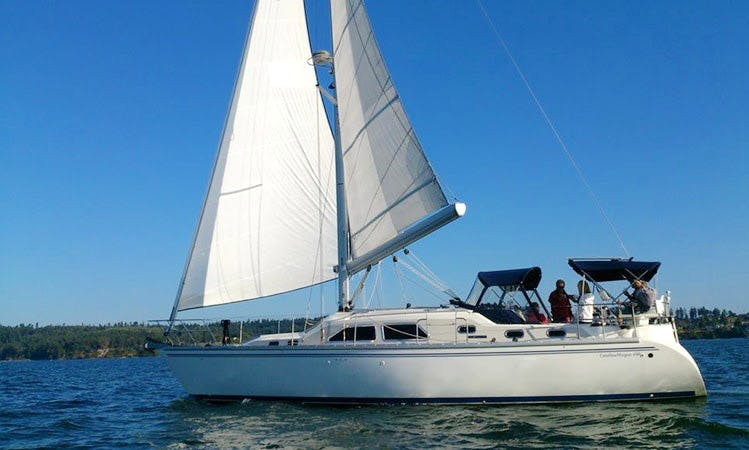 Catalina 22 Sailing Yacht Charter in Coupeville and Penn Cove