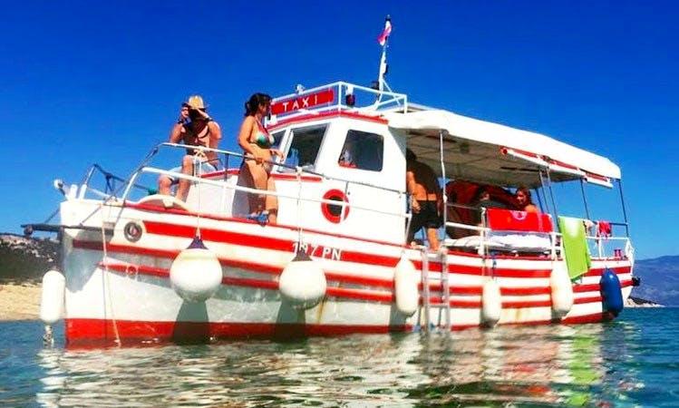 TAXI BOAT PUNAT Ivex & Helena, Passenger Boats on Krk island, in Punat, Croatia