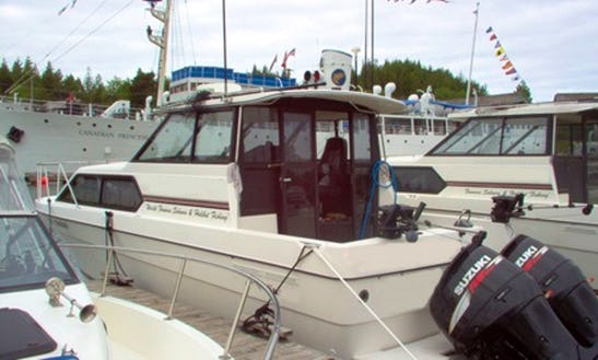 29' Fishing Charter In Ucluelet