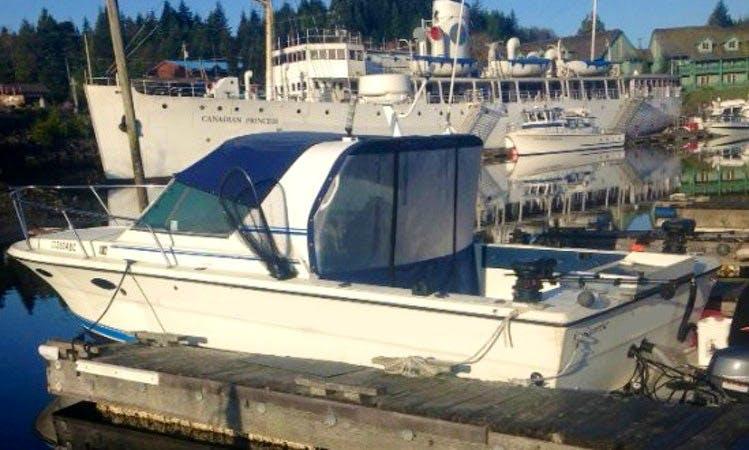 27' Monaro Inshore & Offshore Fishing in Ucluelet