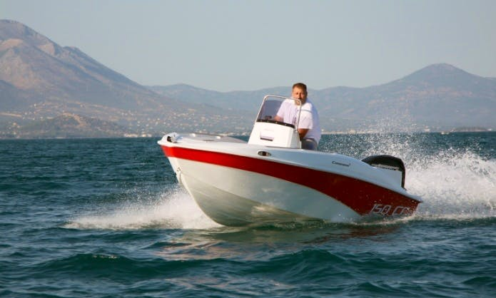 Rent 15' Compass CC 150 GR Center Console in Chalkidiki, Greece