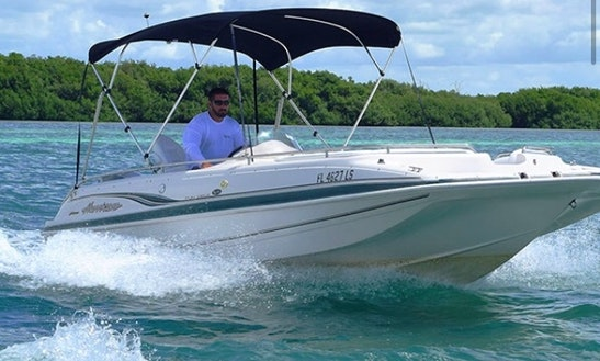 Deck Boat Rental For 6 People In Key West, Florida
