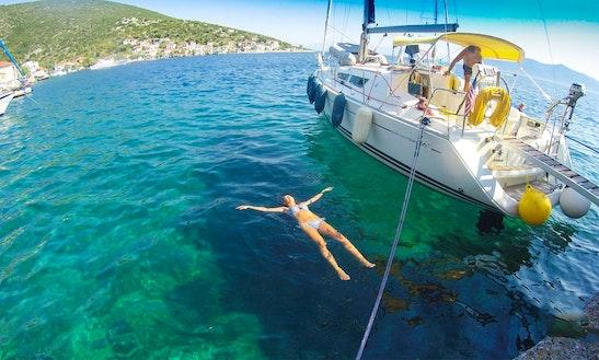 Sailing Charter On 36' Jeanneau Sun Odyssey Yacht In Volos, Greece