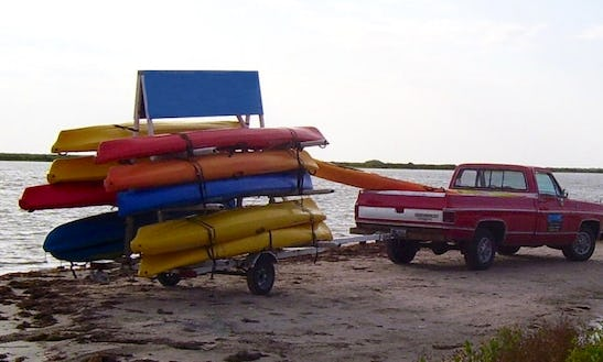 Single & Double Kayak Rentals In Newport Oregon