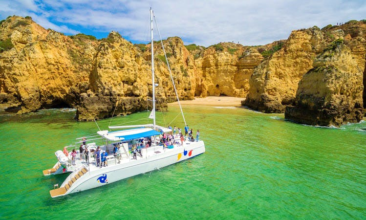 Enjoy Lagos, Portugal On 60' Cruising Catamaran