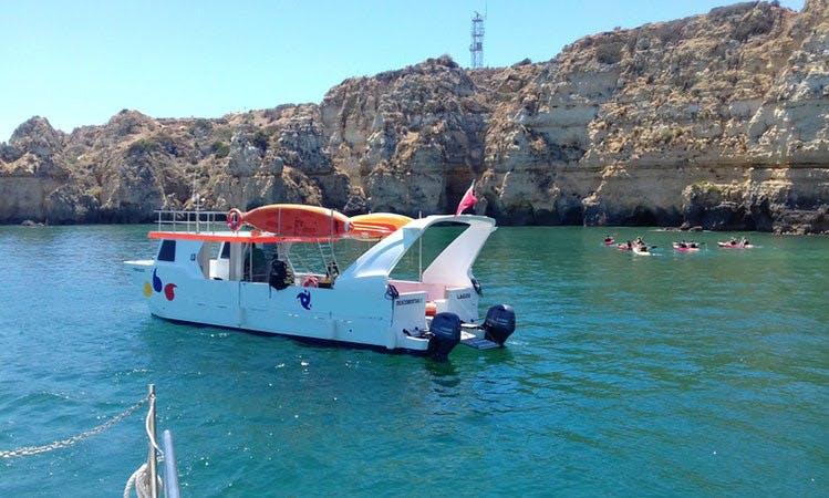 Power Catamaran in Lagos, Portugal