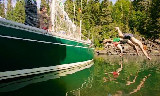 40ft Monohull, Canadian Coast Lake Superior Including Isle Royale
