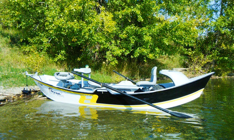 Drift Boat Bow River Fly Fishing - Guided Tour