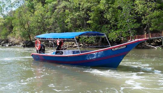 Take A River Cruise Through Langkawi's Caves!