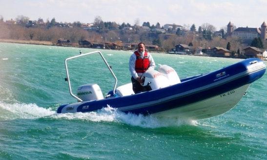Rent Rigid Inflatable Boat In Estavayer-le-lac, Switzerland