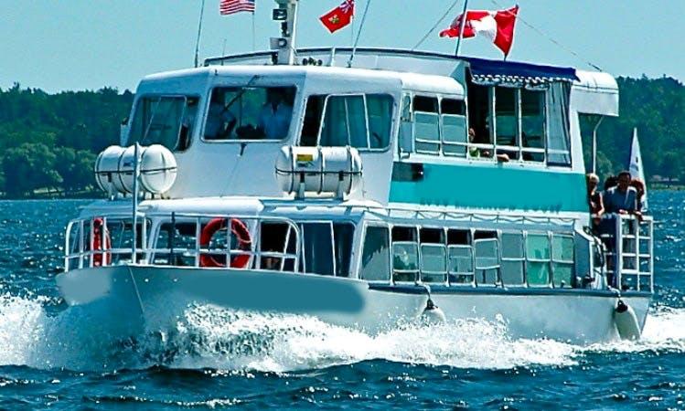 "Private Cruise Charter ""General Brock III"" In Brockville"