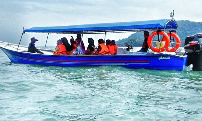 Charter a view-seeking Canal Boat in Langkawi, Malaysia