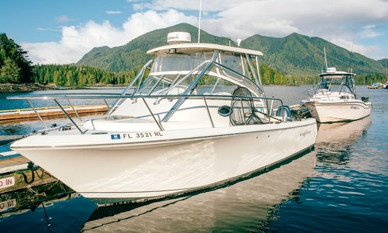 27' Sailfish Motor Yacht Rental In Tofino, Canada
