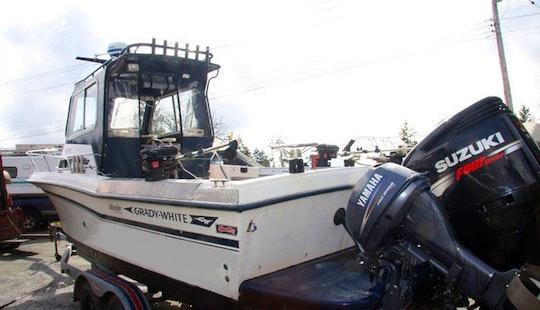 24' Explorer Fishing Charter In Ucluelet