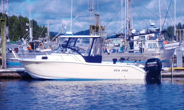 'Overtime' Saltwater Fishing Charter in Tofino