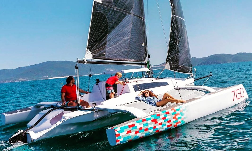 Trimaran Rental In Novi Vinodolski, Croatia
