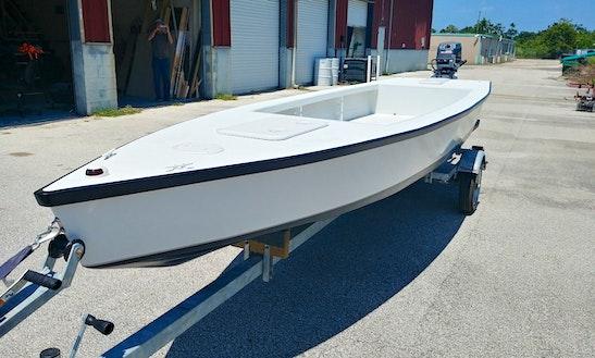 18ft Flats Boat 4 Inch Draft