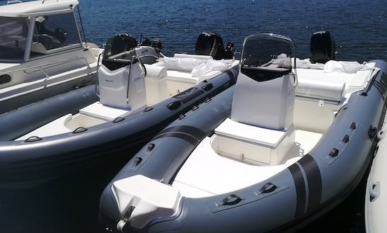18' Alson Rib Rental In Cannigione, Italy