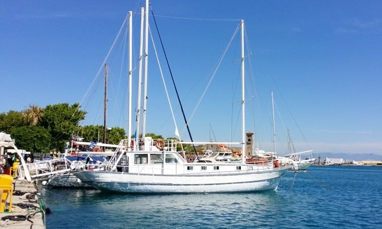Charter Romantika Gulet In Rodos, Greece