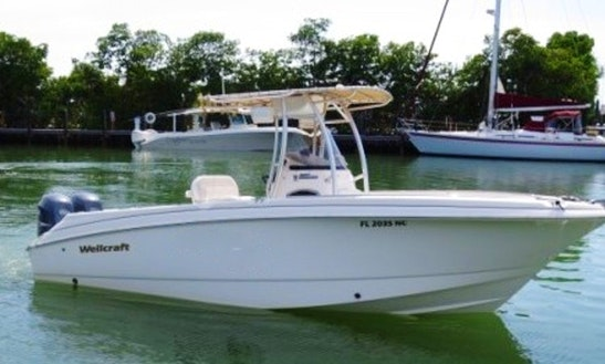 Rent 25' Wellcraft Center Console In Marathon, Florida
