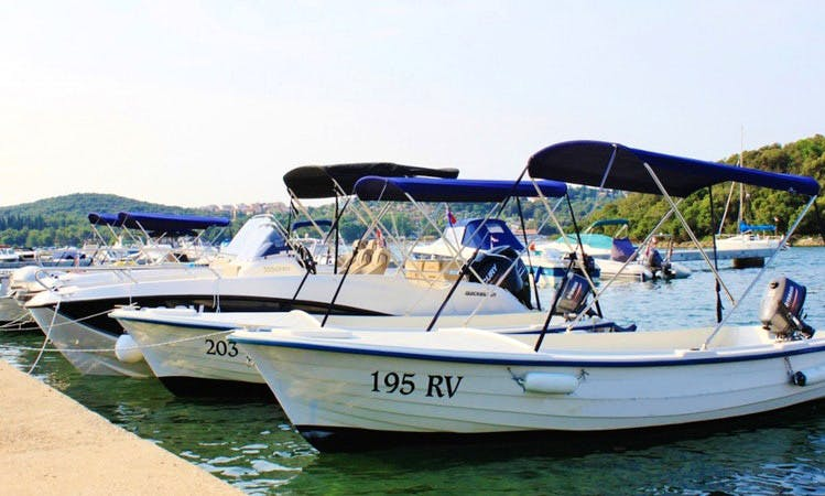 Rent a Dinghy in Vrsar, Croatia