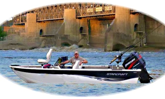 Bass Boat Fishing Charter In East Selkirk, Canada