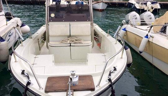 A Center Console Bareboat Rental In La Spezia