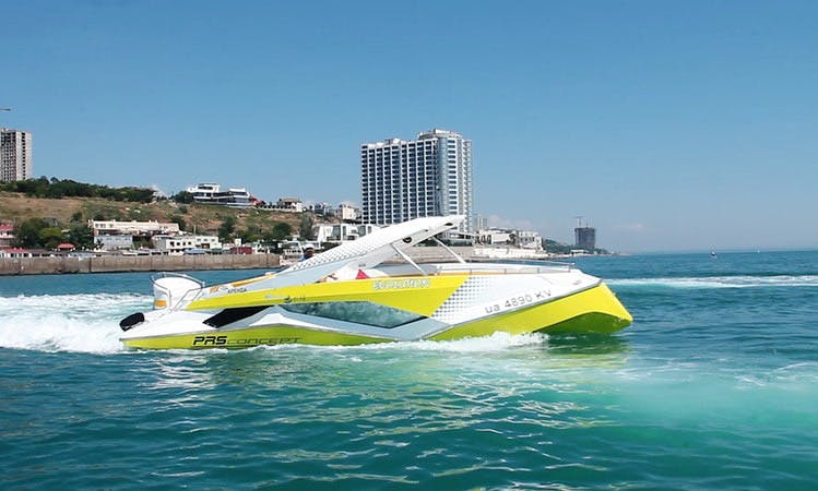 Charter a Deck Boat in Odessa, Ukraine for up to 15 people
