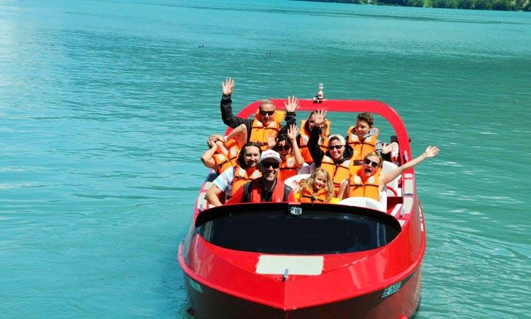 Jet Boat Ride in Matten bei Interlaken