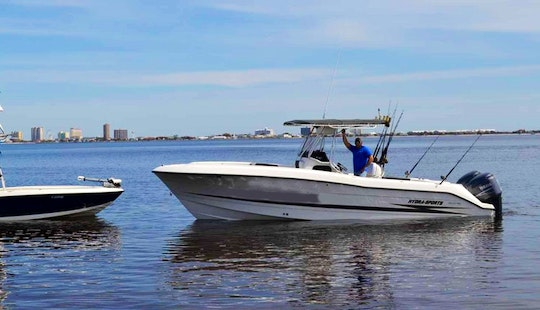 Pensacola Beach Fishing Charter On 28ft 'just Ben Chillin' Boat