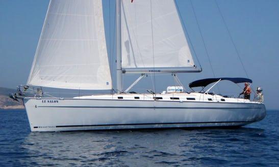 Charter 55' Le Salon - Beneteau Cyclades 50.5 Cruising Monohull In Split, Croatia
