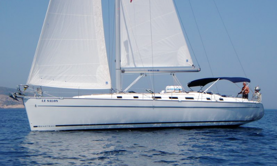 Charter 55' Le Salon - Beneteau Cyclades 50.5 Cruising Monohull In Split, Croatia