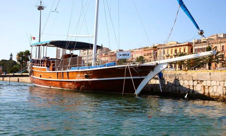 Prima Luna Sailing Yacht Trips in Carloforte