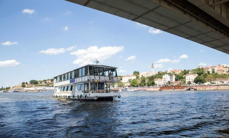 Enjoy Sightseeing in Beograd, Serbia on 79' Kej 2 Passenger Boat
